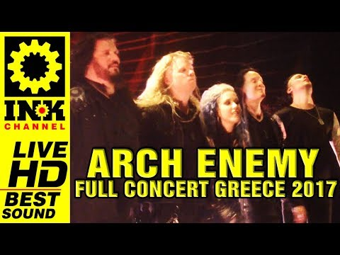 ARCH ENEMY - Full Concert [23/9/2017 Thessaloniki Greece]