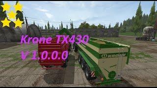 Link:https://www.modhoster.de/mods/krone-tx430 http://www.modhub.us/farming-simulator-2017-mods/krone-tx430-v1-0/