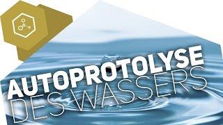 Autoprotolyse von Wasser - pH und pOH -Wert