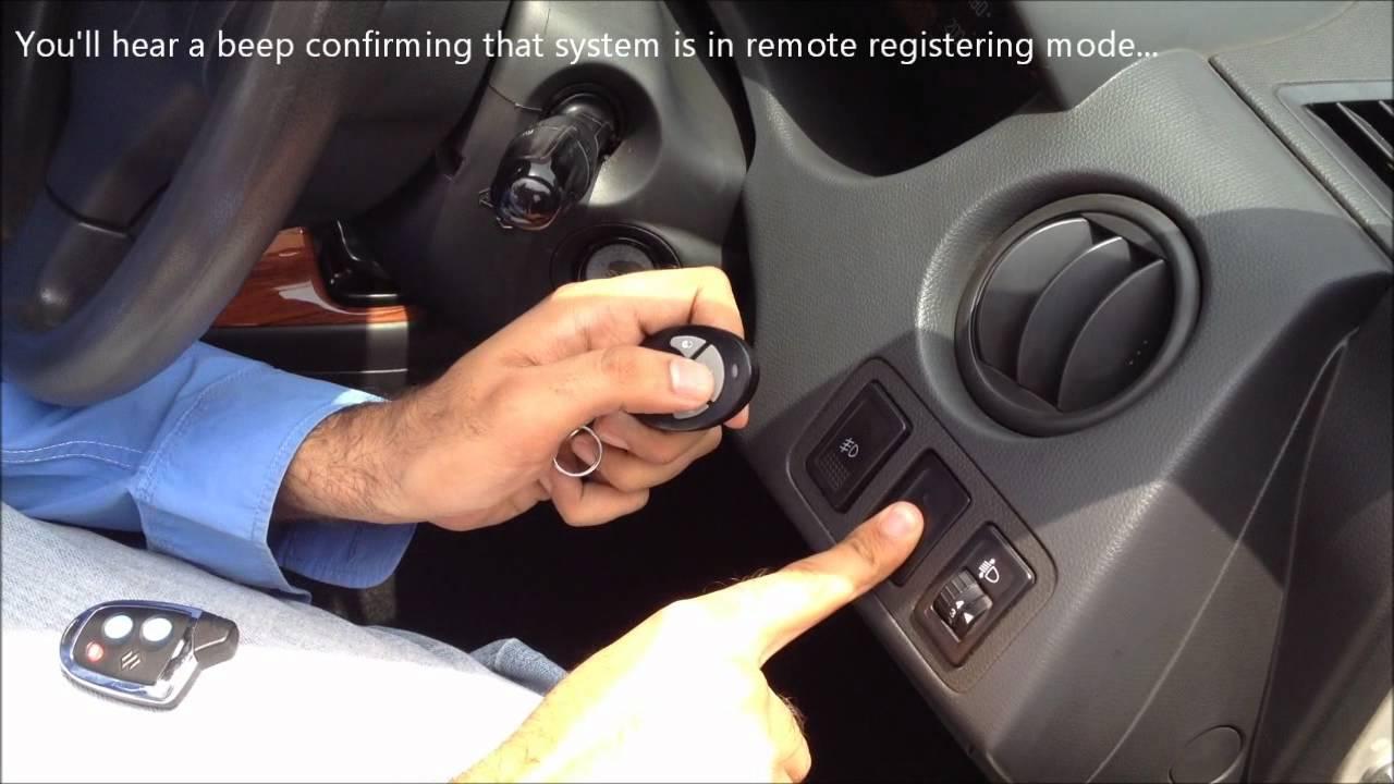 suzuki remote matching nippon remote youtube sx4 central locking wiring  [ 1280 x 720 Pixel ]