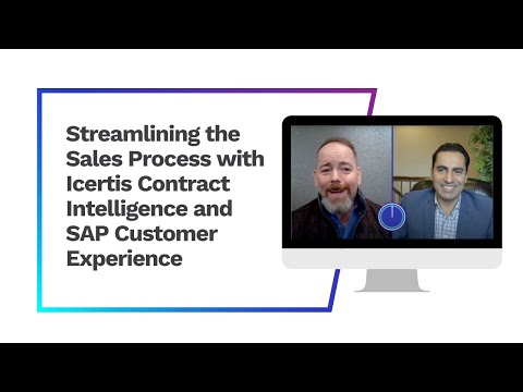Streamlining the Sales Process with Icertis Contract Intelligence and SAP Customer Experience