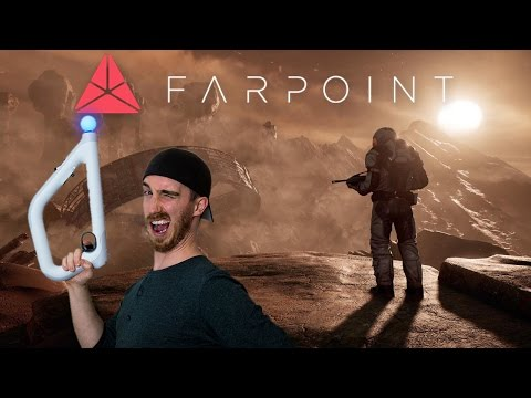 BEST VR SHOOTER + GIVEAWAY! | Farpoint VR - Playstation VR Gameplay