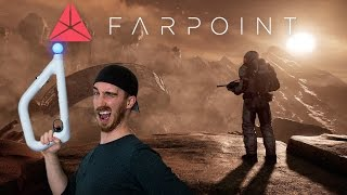 BEST VR SHOOTER + GIVEAWAY!   Farpoint VR - Playstation VR Gameplay
