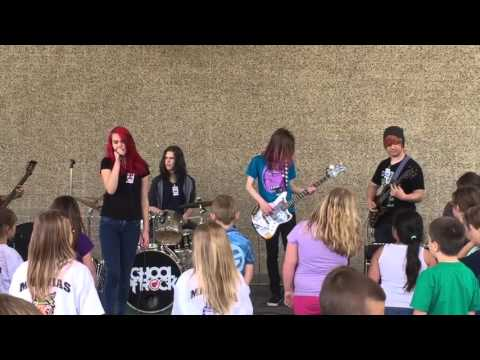 "Seattle School of Rock House Band Day of Arts show  ""Layla"" set 2"