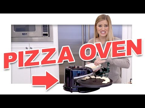 ROTATING PIZZA OVEN!! Does it work?