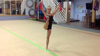 Rhythmic Gymnastics Training with Thera-bands