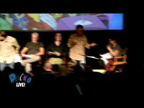 """Rocko Live! 2012 - """"Wacky Delly"""" Live script reading at the Downtown Independent, LA"""