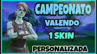 LIVE-CUSTOM LIVING ROOM FORTNITE VALENDO SKIN-LOJA 13/09