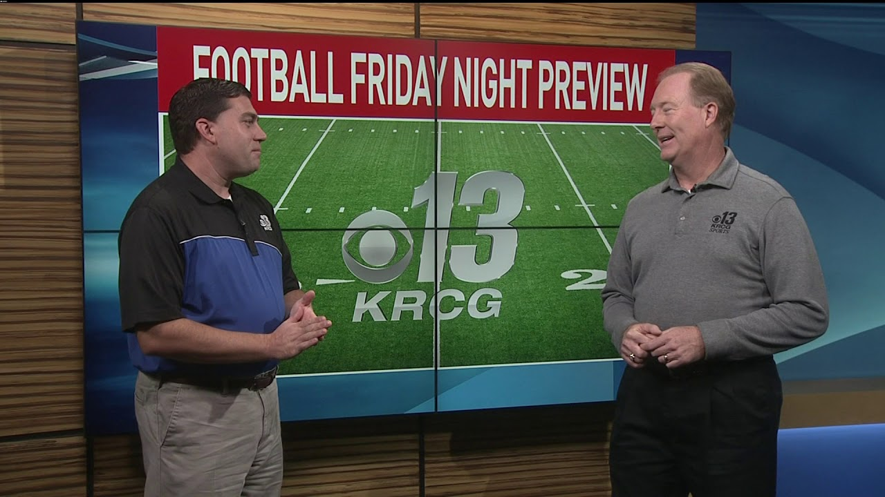 Football Friday Night Preview - Week 9