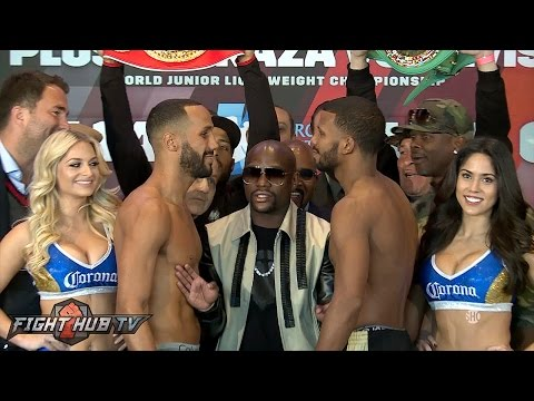 Badou Jack vs. James DeGale Full Weigh In & Face Off Video