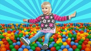 Fun playtime with color balls NurseryRhymes for Children
