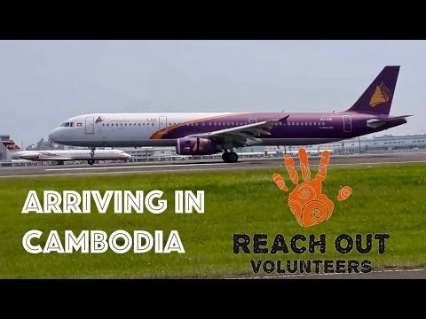 Arriving in Cambodia - Visa & Immigration Process