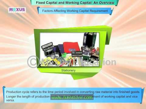 Fixed Capital and Working Capital- An Overview