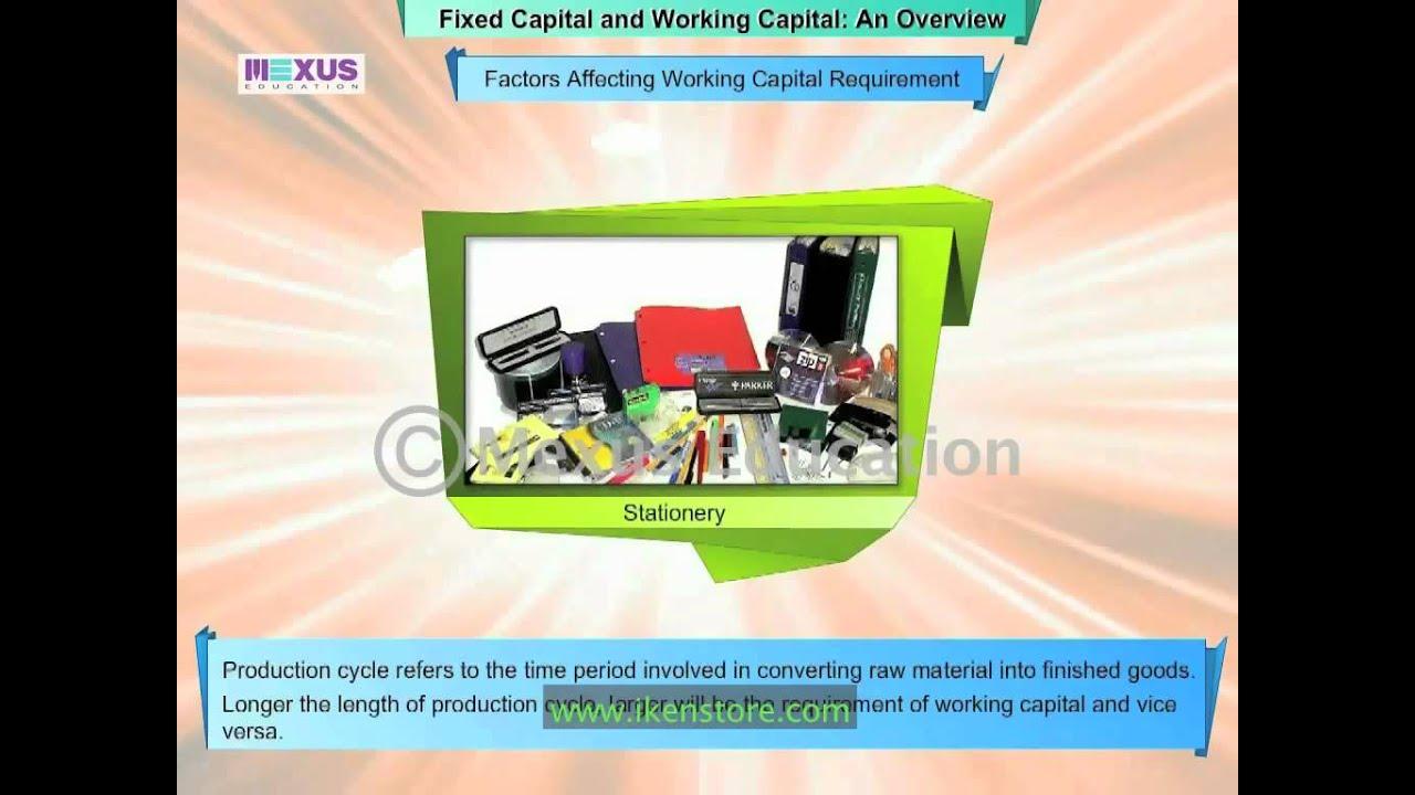 fixed working capital