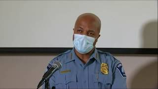 WATCH LIVE: Minneapolis police press conference