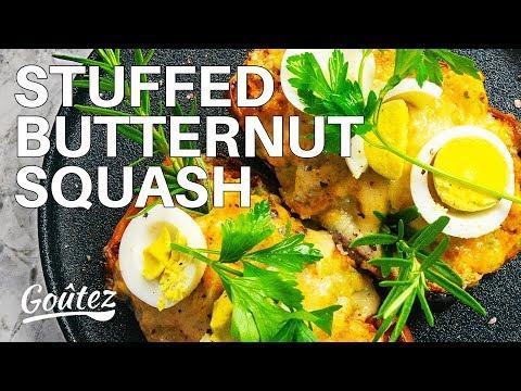 The Best Sausage Stuffed Butternut Squash Recipe