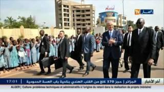 مالي: إطلاق إسم رئيس الجمهورية عبد العزيز بوتفليقة على نهج وسط العاصمة باماكو
