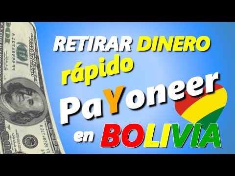 PAYONEER BOLIVIA: CÓMO COBRAR O RETIRAR DINERO POR CAJERO AUTOMÁTICO BNB