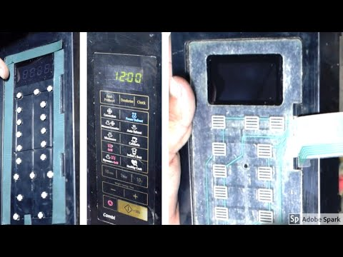 How To Repair Microwave Oven Touch Pad