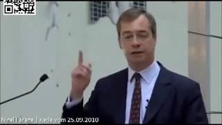 Farage: EU als NWO-Steigbügelhalter & wie Deutschland noch immer für den 2. Weltkrieg zahlt