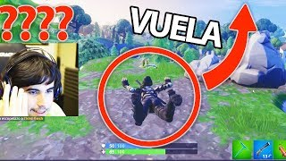 HOW **LEAVE FLIGHT** IN FORTNITE BUG! ☝️😱 FLY WHEN YOU WANT IN FORTNITE: Battle Royale