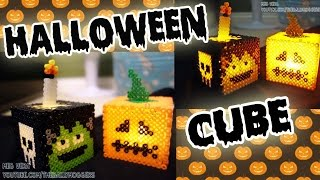 Perler/Hama Bead Halloween Cube Tutorial - How To