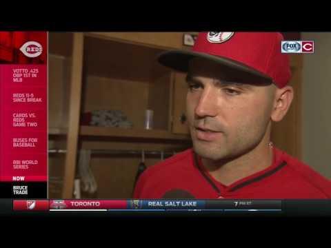 Cincinnati Reds bid their farewell to Jay Bruce