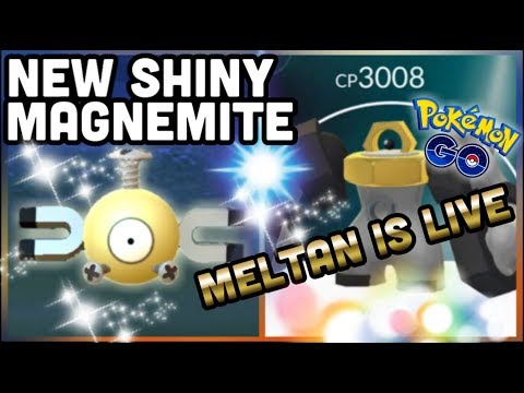 SHINY MAGNEMITE & MELTAN LIVE IN POKEMON GO | NEW RAIDS & LET'S GO DISCUSSION