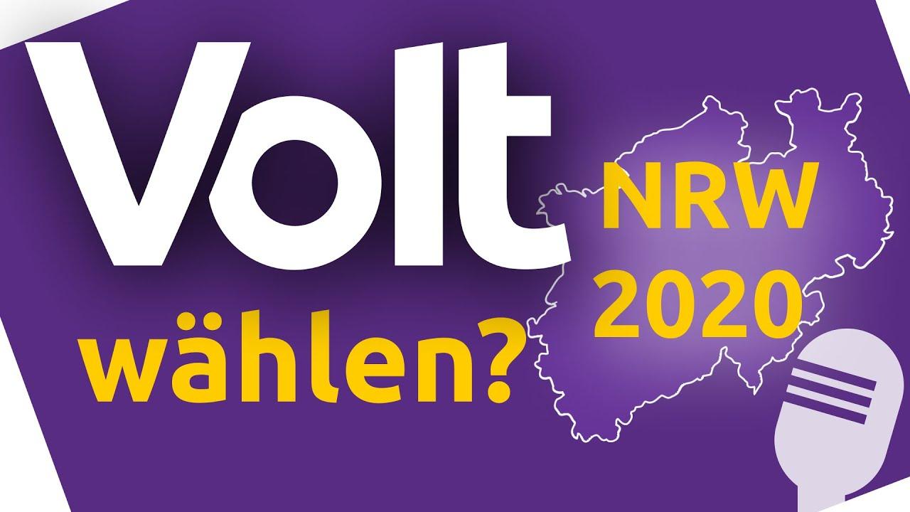 YouTube: Volt wählen? - Kommunalwahl NRW 2020 - Volt's Way - Unser Europa Podcast - 3.07