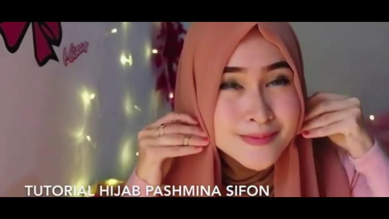 Tutorial Hijab Pashmina Sifon 2017 YouTube