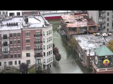 Hurricane Sandy Hits Hoboken