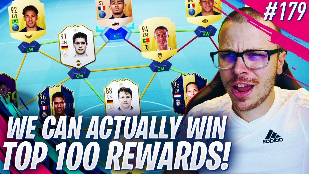 FIFA 19 WE CAN ACTUALLY WIN TOP 100 FUT CHAMPIONS REWARDS! THE TOP 100 IN THE WORLD DREAM IS ALIVE
