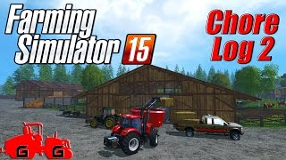 Farming Simulator 15: Chore Log 2 - Mixin' Things Up!