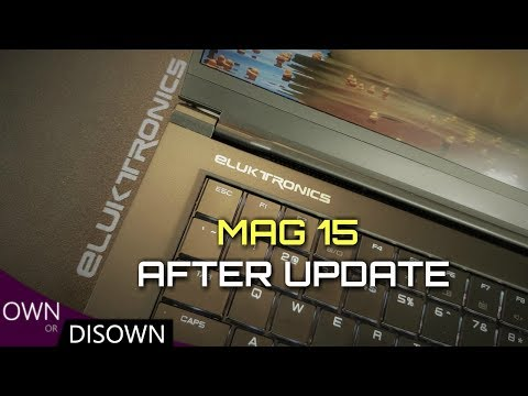 Eluktronics Mag 15 Review - What's It Like After The Updates?
