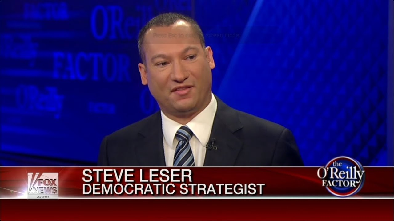 Steve Leser on Fox News' The O'Reilly Factor discussing ...
