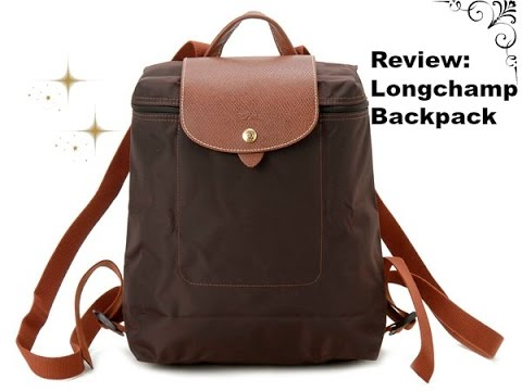 35b731ea7fc1 Review  Longchamp backpack - YouTube