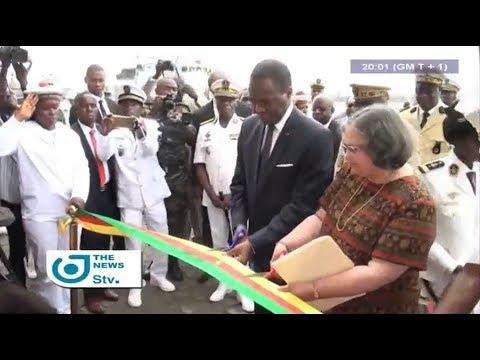 STV NEWS 08:00 PM - (MINISTER/DEFENSE : NEW MARITIME OPERATION CENTER in DOUALA) - 13th October 2017