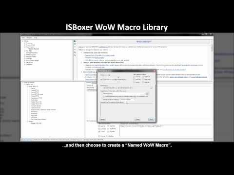 ISBoxer 40 World Of Warcraft Macro Library