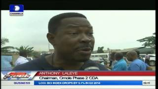 Omole Residents Protest Construction Of High-Rise Buildings By Govt
