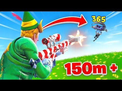 I can't believe I hit this snipe In Fortnite...