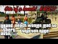 Grand Theft Auto V: Beach Women Lead to Tractor RAGE!!