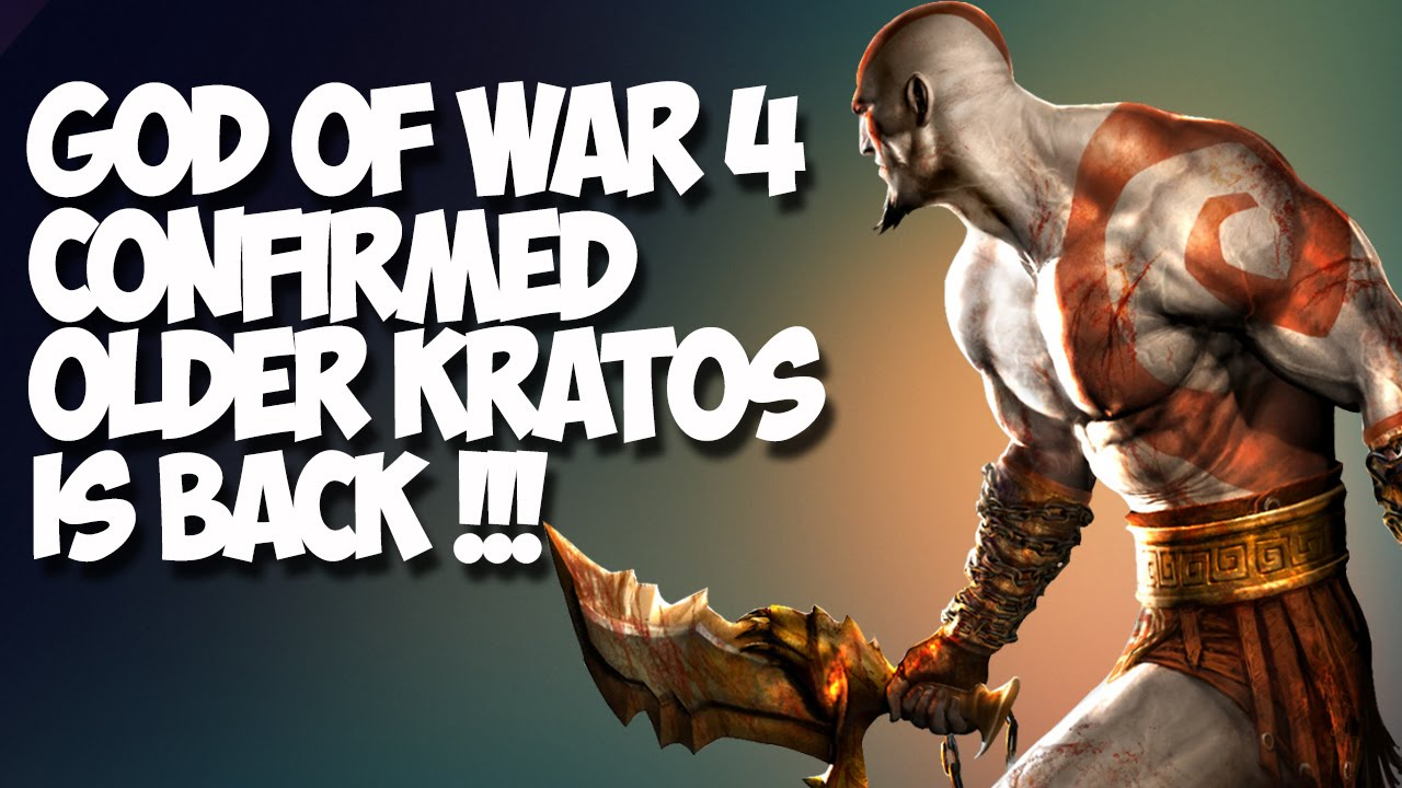God Of War 4 Confirmed Older Kratos Norse Mythology