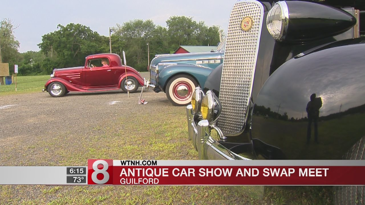 39th Annual Time Machines Antique Car Show And Swap Meet Held