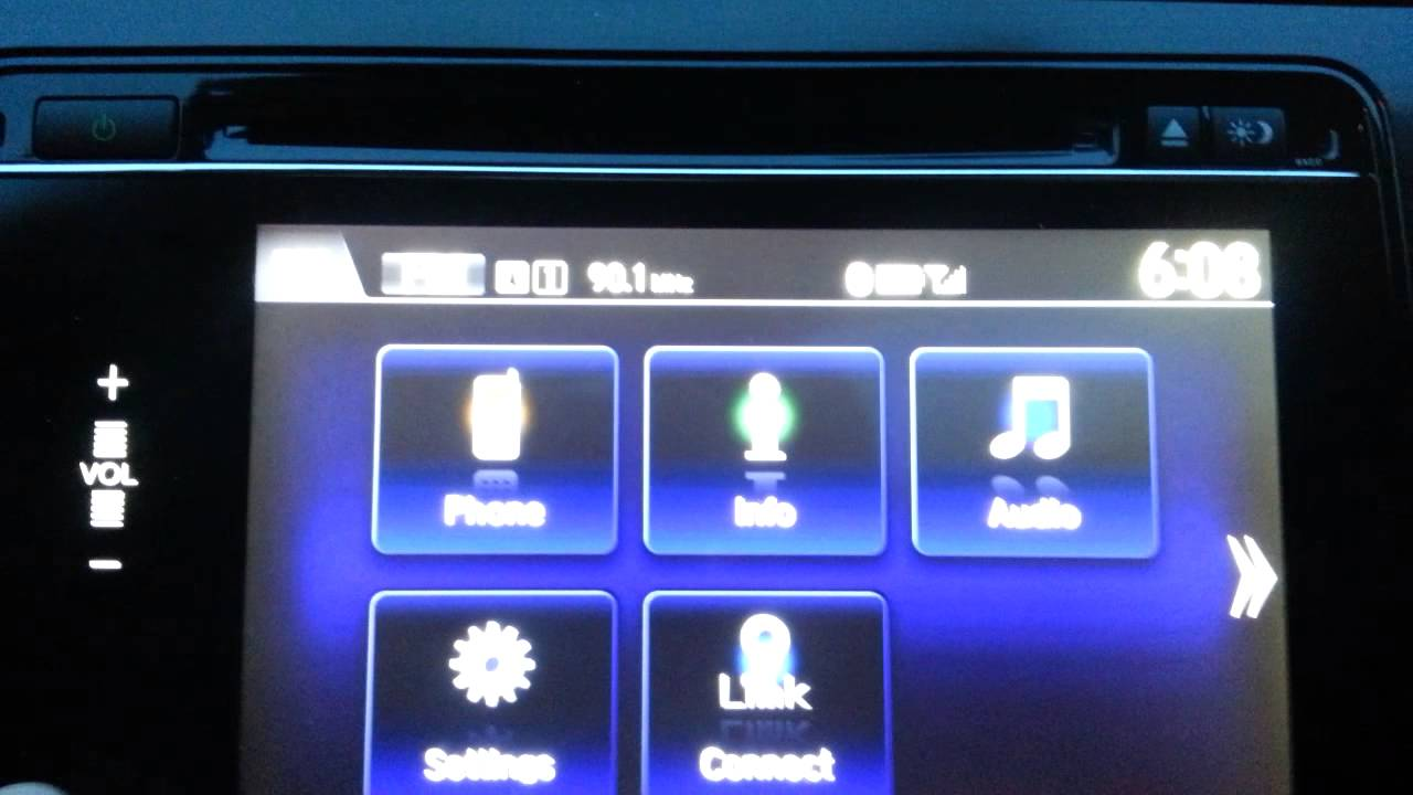 HondaLink, MirrorLink, Android Fail  Very close, though