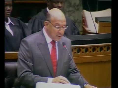 Budget Speech - SA Economy