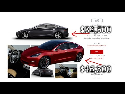 buying tesla and the social class