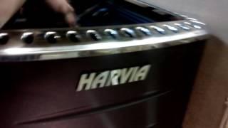 видео Отзыв о банной печи Harvia 20 SL.