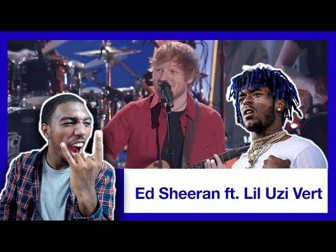 Ed Sheeran & Lil Uzi Vert Perform 'Shape of You' & 'XO Tour Llif3' Medley | 2017 VMAs | *REACTION*