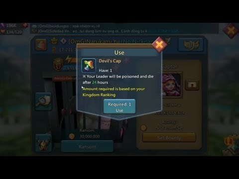 Lords Mobile: Devil's Cap (how And Why You Should Use It?)