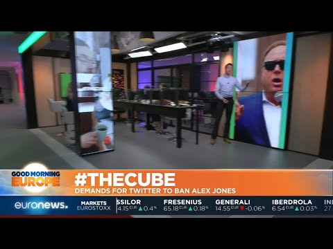 #TheCube | Twitter has temporarily suspended infowars' Alex Jones